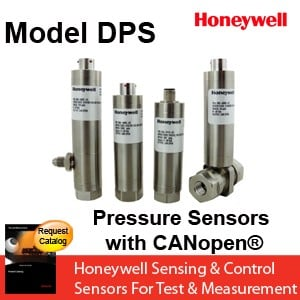 Honeywell Digital Pressure Sensor withCANopen®-Image