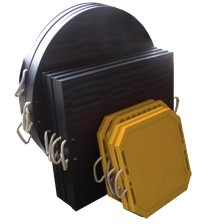 Redco Outrigger Pads- Lighter and longer lasting-Image
