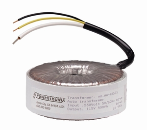 Auto single winding Toroidal Transformers-Image