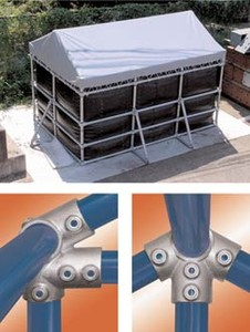 Ridge and Eaves Style Structural Slip-On Fittings -Image