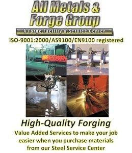 Specialty Forging - Value Added Services-Image