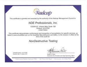 Nadcap Accreditation for Aerospace & Prime Government-Image