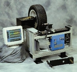 Tire treadwear measurement from bytewise measurement systems for Bytewise measurement systems
