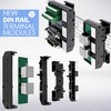 New T35 Expandable Din Rail Modules by Mencom-Image