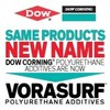Dow Corning® Polyurethane Additives are sold by Dow as VORASURF™-Image