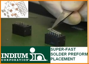 Solder Preform Placement...SUPER-FAST-Image