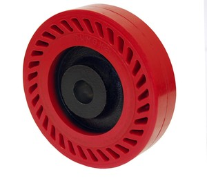Omega Wheels Reduce Noise and Absorb Shock-Image