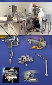Clean Room Hoists, Cranes, Winches-Image