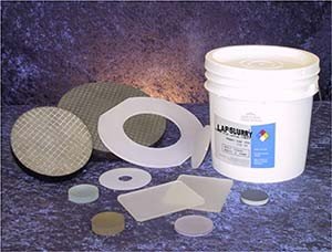 Lapping Vehicle for C Plane Sapphire Wafers-Image