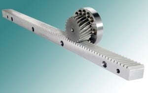 Precision Gear Racks - carburized case-hardening -Image