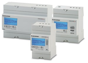 Active electrical energy meter COUNTIS E-Image