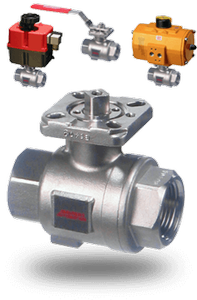 2-Piece Stainless Steel Ball Valve-Image
