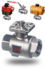 26 Series Stainless Steel Ball Valves 2-piece body-Image