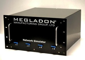 Megladon's New Rack Mount Network Simulator! -Image