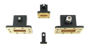 Custom Waveguides to Coaxial Adapters -Image