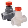 CPVC and PVDF NVA Series Needle Valves-Image