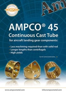 AMPCO®45 for aircraft landing gears components-Image
