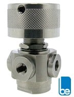 Four Port Stainless Steel Selector Ball Valve -Image