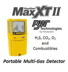 H2S, CO2, O2 and combustibles: Portable Compliance-Image
