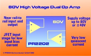 PR2202 80V-High Voltage Operational Amplifier-Image