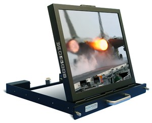 1U Flip-Up LCD Monitor-Image