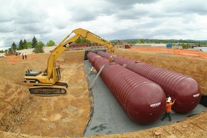 Corrosion Resistant Fire Protection Tanks -Image