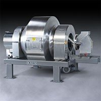 Fast but Gentle Food-Grade Rotary Batch Mixer -Image