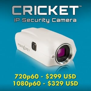 Cricket IP Security Camera Starting at $299 -Image