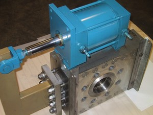 "4"" 1500# Valve, Side Mounted Actuator, anti-scale-Image"