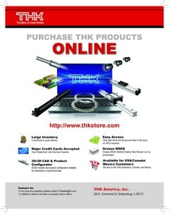 Purchase THK Products Online!-Image