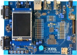 MCBSTM32F400 Evaluation Board-Image