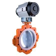 XLD Lined Butterfly Valves-Image