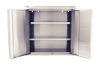 Stainless steel wall mount cabinet with shelves-Image