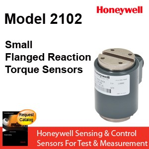 Model 2102 Small Flanged Reaction Torque Sensor From