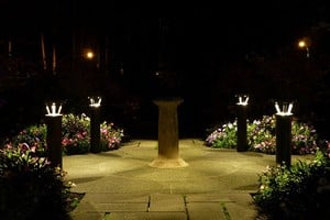 Solar-Powered Lighting Bollards -Image