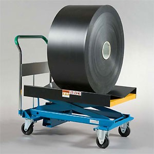 Roll Handling Powered Hydraulic Cart-Image