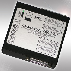 USB 8 Channel Analog Output Module-Image
