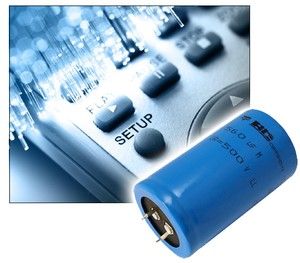 Vishay Intertechnology Snap-in Power Capacitors -Image