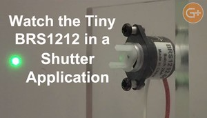 Bistable Rotary Solenoid in Shutter & Demo Video -Image