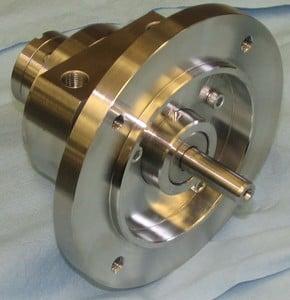 Sanitary Stainless Steel Rotary Vane Air Motors From Gast