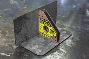NEW LINE of copper-plated magnetic welding squares-Image