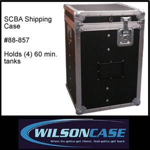 SCBA ATA-300 Shipping Case - 1 hr. tanks #88-857-Image