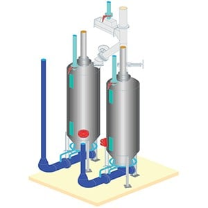 Airlift™ Fluidizing Pneumatic Elevating System-Image