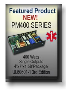 PM400 Series Medical Power Supply-Image