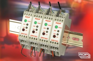 DIN Rail LVDT Signal Conditioner - Model DR7AC-Image