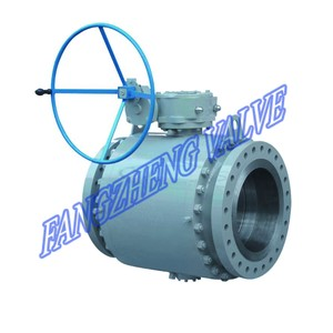 Trunnion-Mounted Ball Valve-Image
