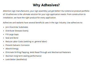 Why Adhesives?-Image