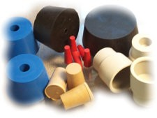 Medical Grade Silicone & Rubber Stoppers for Labs-Image