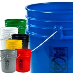5 Gallon Buckets by U.S. Plastic Corp.-Image