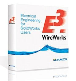 E³.WireWorks:Electrical Engineering for SolidWorks-Image